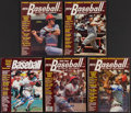 Baseball Collectibles:Photos, Lot of 5 Signed Street & Smith's Baseball Yearbooks - IncludesBench, Killebrew, & More. . ...