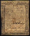 Colonial Notes:Delaware, Delaware January 1, 1776 2s 6d Very Fine.. ...
