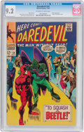Silver Age (1956-1969):Superhero, Daredevil #34 (Marvel, 1967) CGC NM- 9.2 Off-white to white pages....