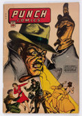 Golden Age (1938-1955):Superhero, Punch Comics #10 (Chesler, 1944) Condition: GD....