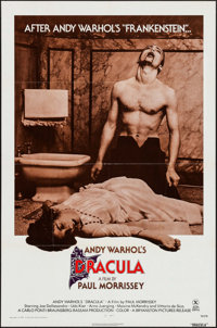 """Andy Warhol's Dracula (Bryanston, 1974). One Sheet (27"""" X 41"""") Style A. Horror"""