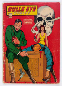 Bulls-Eye Comics #11 (Harry 'A' Chesler, 1944) Condition: FR