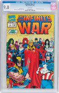 Modern Age (1980-Present):Superhero, The Infinity War #1 (Marvel, 1992) CGC NM/MT 9.8 White pages....
