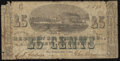 Obsoletes By State:Louisiana, New Orleans, LA - Red River Packet Co. 25¢ Dec. 1, 1861. ...