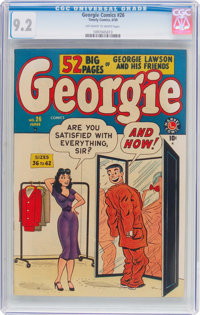 Georgie Comics #26 (Timely, 1950) CGC NM- 9.2 Off-white to white pages