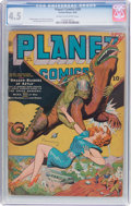 Golden Age (1938-1955):Science Fiction, Planet Comics #29 (Fiction House, 1944) CGC VG+ 4.5 Cream tooff-white pages....