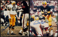 Football Collectibles:Photos, Green Bay Packers Legends Signed Photograph Pair (2) - Bart Starr & Ray Nitschke. . ...