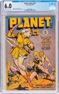 Golden Age (1938-1955):Science Fiction, Planet Comics #55 (Fiction House, 1948) CGC FN 6.0 Cream tooff-white pages....