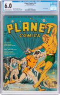Golden Age (1938-1955):Science Fiction, Planet Comics #12 (Fiction House, 1941) CGC FN 6.0 Cream to off-white pages....