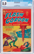Golden Age (1938-1955):Science Fiction, Flash Gordon #3 (Harvey, 1951) CGC VG/FN 5.0 Off-white pages....