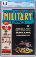 Golden Age (1938-1955):War, Military Comics #8 (Quality, 1942) CGC FN+ 6.5 Off-white pages....