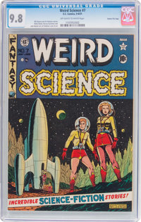 Weird Science #7 Gaines File Pedigree 7/10 (EC, 1951) CGC NM/MT 9.8 Off-white to white pages