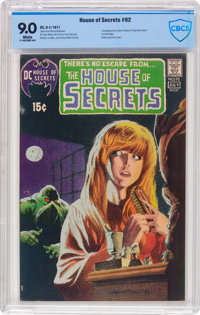 House of Secrets #92 (DC, 1971) CBCS VF/NM 9.0 White pages