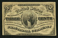 Fractional Currency:Third Issue, Fr. 1226 3¢ Third Issue Choice About New.. ...