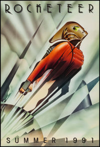 """Rocketeer (Walt Disney Pictures, 1991). One Sheet (27"""" X 40"""") DS Advance. Action"""