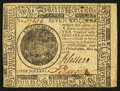 Colonial Notes:Continental Congress Issues, Continental Currency May 9, 1776 $7 Extremely Fine-About New.. ...