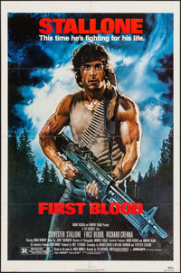 """First Blood (Orion, 1982). One Sheet (27"""" X 41""""). Action"""