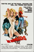 "Movie Posters:Bad Girl, The Hitchhikers (EVI, 1972). One Sheet (27"" X 41""). Bad Girl.. ..."