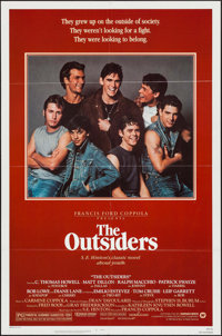 "The Outsiders (Warner Brothers, 1982). One Sheet (27"" X 41""). Crime"