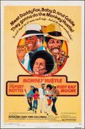 "Movie Posters:Blaxploitation, Monkey Hustle (American International, 1976). One Sheet (27"" X 41""), Uncut Pressbooks (7) (12 Pages, 8.5"" X 14""), & Ad Slick... (Total: 10 Items)"