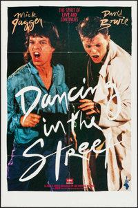 """Dancing in the Street (Music Motions, 1985). One Sheet (27"""" X 41""""). Rock and Roll"""