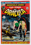 Bronze Age (1970-1979):Horror, Tomb of Dracula #1 (Marvel, 1972) Condition: FN/VF....