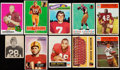 Football Cards:Lots, 1948 - 1991 Redskins Football Collection (490+)....