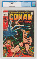 Bronze Age (1970-1979):Adventure, Conan the Barbarian #4 (Marvel, 1971) CGC NM 9.4 Off-white pages....