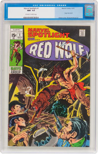 Marvel Spotlight #1 Red Wolf (Marvel, 1971) CGC NM+ 9.6 Off-white to white pages