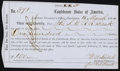 Confederate Notes:Group Lots, Interim Depositary Receipt Charleston, (SC) - $100 Mar. 18, 1864Tremmel SC-39A.. ...