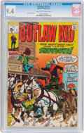 Bronze Age (1970-1979):Western, Outlaw Kid #1 (Marvel, 1970) CGC NM 9.4 Cream to off-white pages....