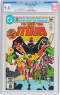 Modern Age (1980-Present):Superhero, New Teen Titans #1 (DC, 1980) CGC NM+ 9.6 White pages....