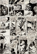 Original Comic Art:Panel Pages, Barry Windsor-Smith, Sal Buscema, Dan Adkins, and Chic Sto...