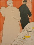 Fine Art - Work on Paper:Print, Henri de Toulouse-Lautrec (French, 1864-1901). Programme pourL'Argent, 1895. Lithograph in colors on smooth wove paper,...