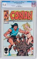 Modern Age (1980-Present):Miscellaneous, Conan the Barbarian #161 (Marvel, 1984) CGC NM+ 9.6 White pages....