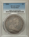 Early Dollars, 1800 $1 Dotted Date VF25 PCGS. PCGS Population: (8/56). ...