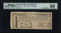 Colonial Notes:South Carolina, South Carolina- City of Charleston July 6, 1789 2s PMG AboutUncirculated 50.. ...