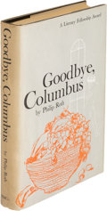 Books:Literature 1900-up, Philip Roth. Goodbye, Columbus. And Five Short Stories. Boston: Houghton Mifflin Company, 1959. First edition....