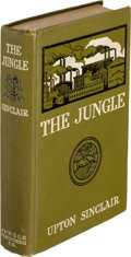 Books:Literature 1900-up, Upton Sinclair. The Jungle. New York: The Jungle Publishing Co., [1906]. First edition, first state copyright page b...