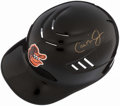 Autographs:Others, Cal Ripken Jr. Signed Batting Helmet. . ...