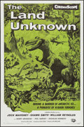 """Movie Posters:Science Fiction, The Land Unknown (Universal International, R-1964). One Sheet (27""""X 41""""). Science Fiction.. ..."""