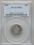 Early Dimes: , 1807 10C Poor 1 PCGS. PCGS Population: (8/418). Mintage 165,000....