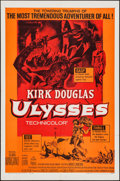 """Movie Posters:Adventure, Ulysses & Other Lot (Paramount, R-1960). Folded, Fine/VeryFine. One Sheets (3) (27"""" X 41"""") & Lobby Card Set of 8 (11..."""
