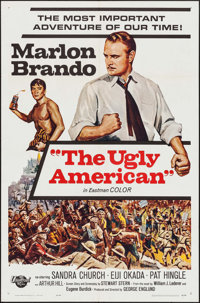 """The Ugly American (Universal, 1963). One Sheet (27"""" X 41"""") & Lobby Card Set of 8 (11"""" X 14"""")..."""
