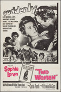 "Movie Posters:Foreign, Two Women & Other Lot (Embassy, 1960). Folded, Fine/Very Fine.One Sheet (27"" X 41"") & French Moyenne (23"" X 31""). Fo..."