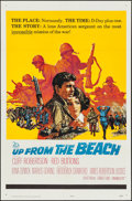 "Movie Posters:War, Up from the Beach (20th Century Fox, 1965). One Sheet (27"" X 41"")& Lobby Card Set of 8 (11"" X 14""). War.. ... (Total: 9 Items)"