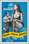 "Movie Posters:Foreign, Yesterday, Today and Tomorrow (Embassy, 1964). One Sheet (27"" X41""). Foreign.. ..."