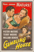 "Movie Posters:Crime, Gambling House (RKO, 1951). One Sheet (27"" X 41""). Crime.. ..."