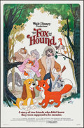 """Movie Posters:Animation, The Fox and the Hound (Buena Vista, 1981/ R-1988). One Sheets (2) (27"""" X 41"""", 26"""" X 40"""") 2 Styles. Animation.. ... (Total: 2 Items)"""
