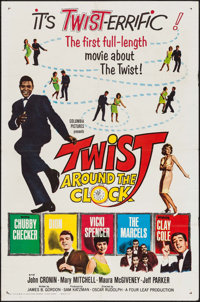 """Twist Around the Clock & Other Lot (Columbia, 1961). One Sheets (2) (27"""" X 41""""). Rock and Roll. ... (T..."""